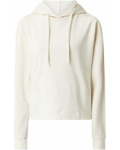 Biała bluza z kapturem bawełniana Only