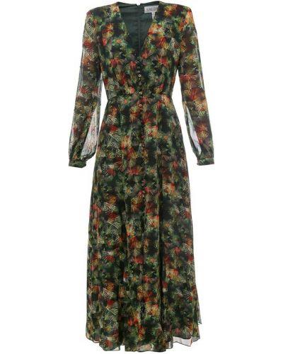 Zielona sukienka Saloni