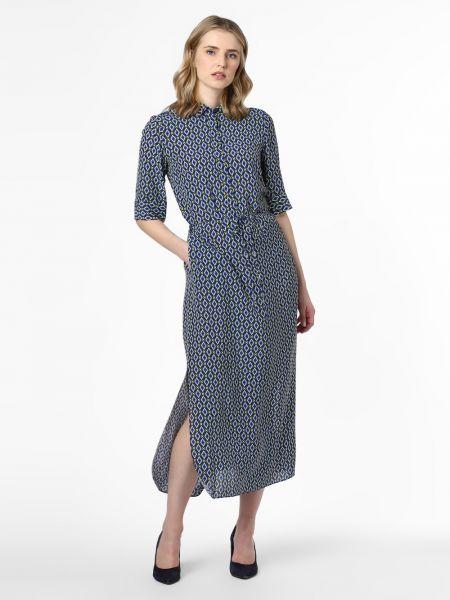 Niebieska sukienka elegancka Ipuri