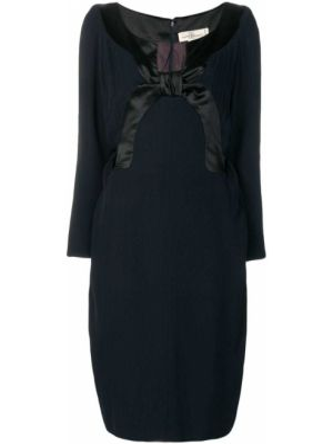 Платье миди винтажное Balmain Pre-owned