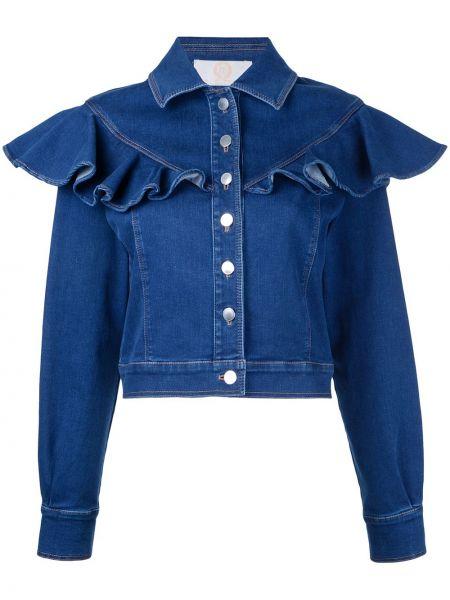 Синяя джинсовая куртка Sara Battaglia