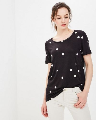 Черная футболка Ichi