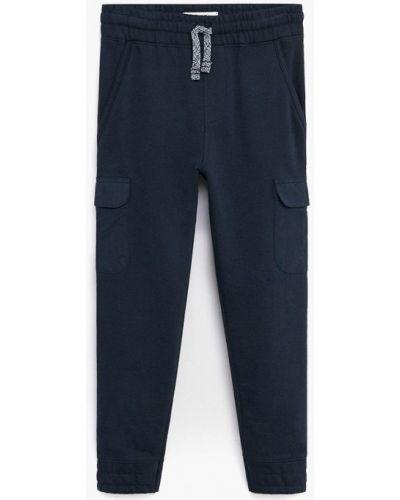 Синие спортивные брюки Mango Kids