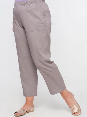 Прямые брюки - серые Лимонти