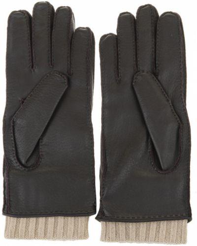 Brązowe rękawiczki Fedeli