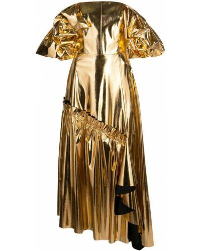 Платье миди на молнии приталенное Osman