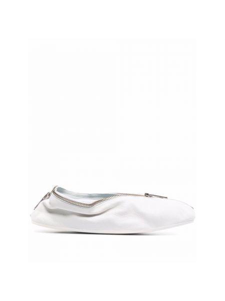 Białe półbuty Mm6 Maison Margiela