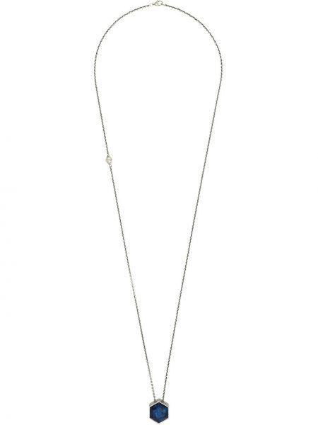 Ожерелье с камнями из серебра M. Cohen