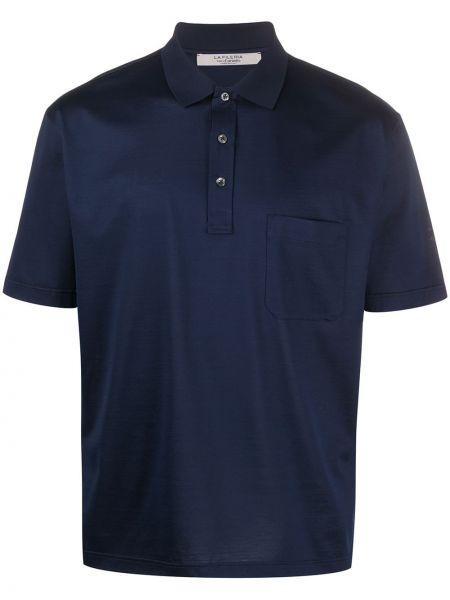 Прямая рубашка с короткими рукавами с воротником La Fileria For D'aniello