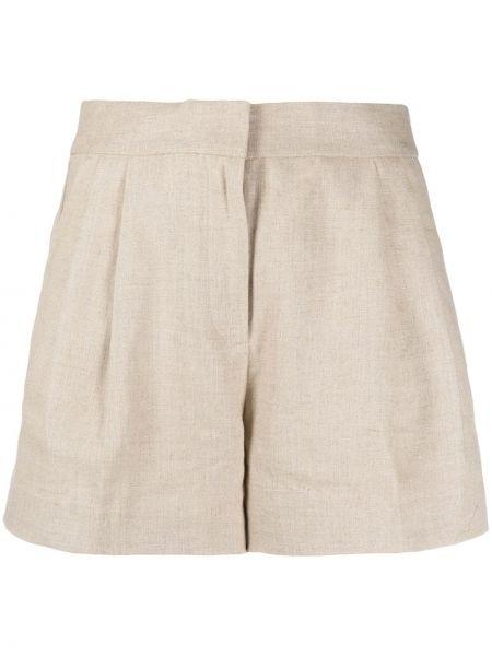 Однобортные шорты с карманами Michael Michael Kors