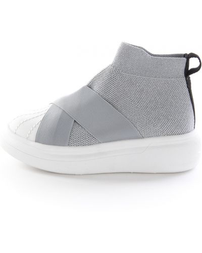 Sneakersy srebrne Fessura