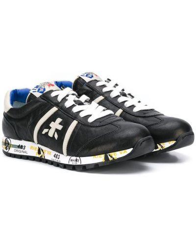 Черные кроссовки Premiata Kids