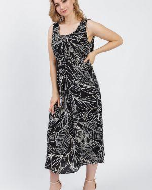 Платье с поясом платье-сарафан со складками Lacywear