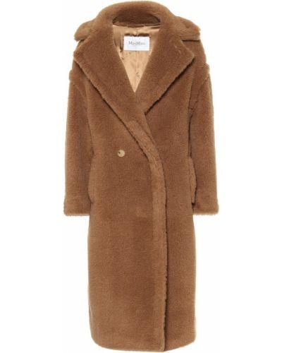Коричневое пальто из верблюжьей шерсти Max Mara