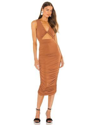 Платье с подкладкой Michael Costello