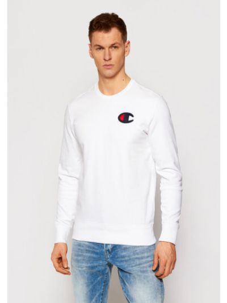 Satynowy dres - biała Champion