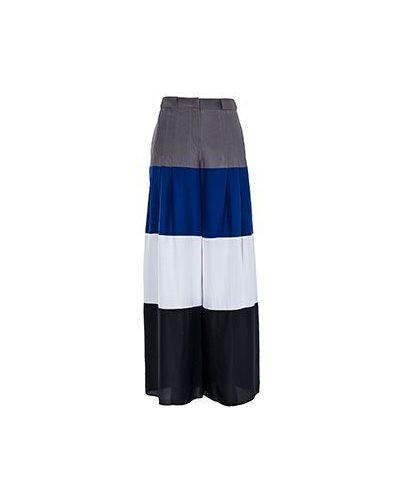 Летние брюки с завышенной талией в полоску Emporio Armani