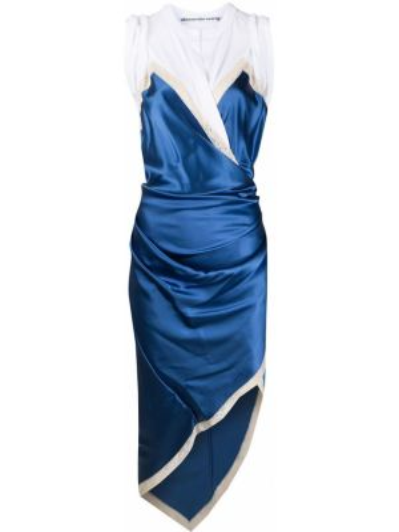 Sukienka koronkowa - niebieska Alexander Wang