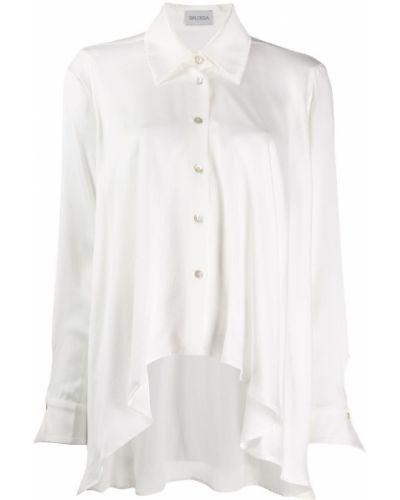 Классическая классическая рубашка с воротником с манжетами Balossa White Shirt