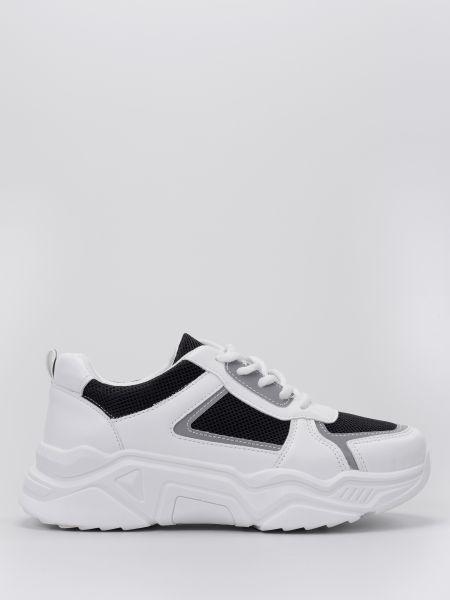 Кожаные кроссовки - белые Braska