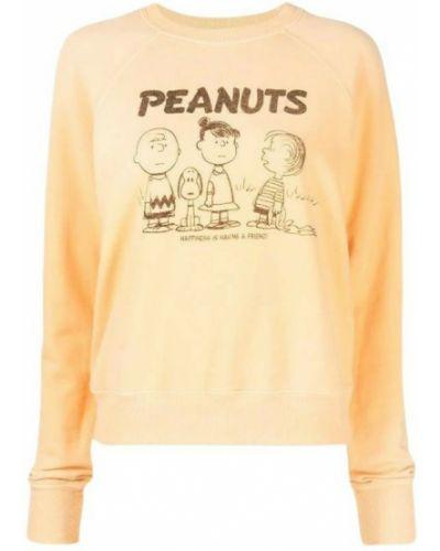 Pomarańczowy sweter Re/done