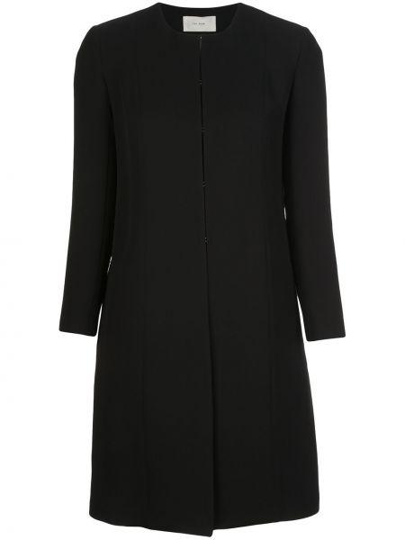 Деловой шелковый черный пиджак The Row