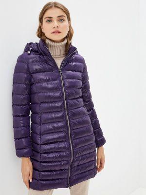 Фиолетовая зимняя куртка Geox