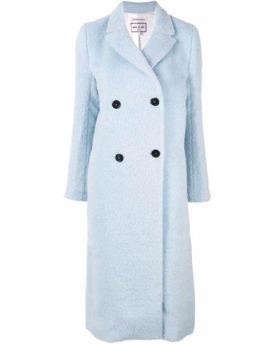 Синее пальто из мохера Paul & Joe