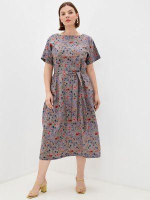 Повседневное платье - серое Chic De Femme