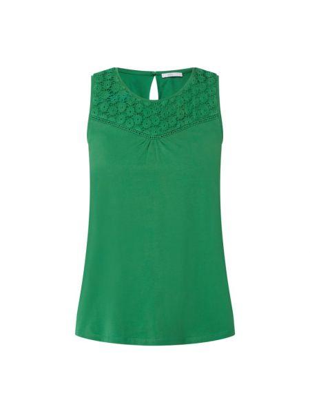 Zielony top bawełniany Edc By Esprit