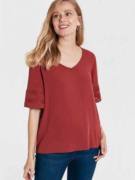 Блузка с коротким рукавом бордовый весенний Lc Waikiki