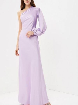 Платье макси фиолетовый Ruxara