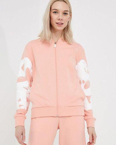 Розовая олимпийка Bikkembergs