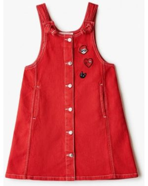 Красное платье Sonia Rykiel