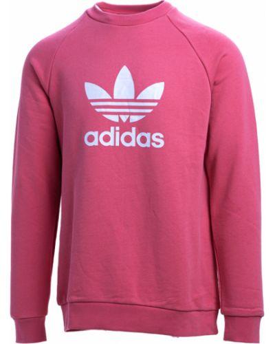 Różowy sweter Adidas