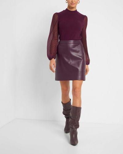 Fioletowa spódnica mini Orsay