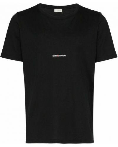 T-shirt - czarna Saint Laurent