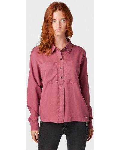 Джинсовая рубашка с длинным рукавом Tom Tailor Denim