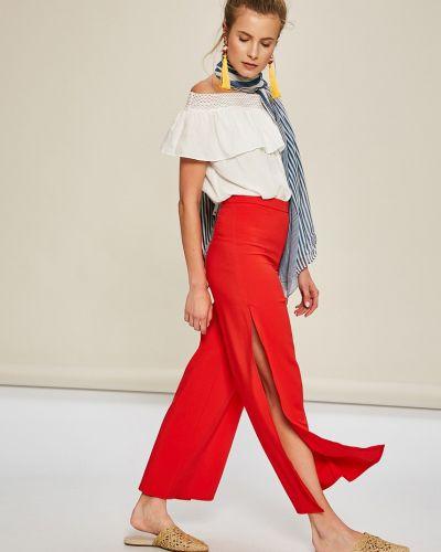 Свободные брюки со штрипками с завышенной талией Answear