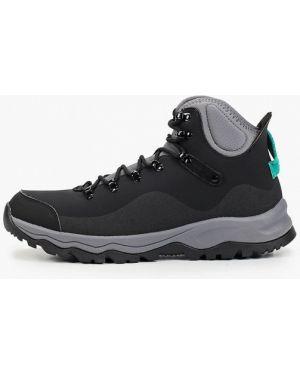 Кожаные черные ботинки осенние Anta