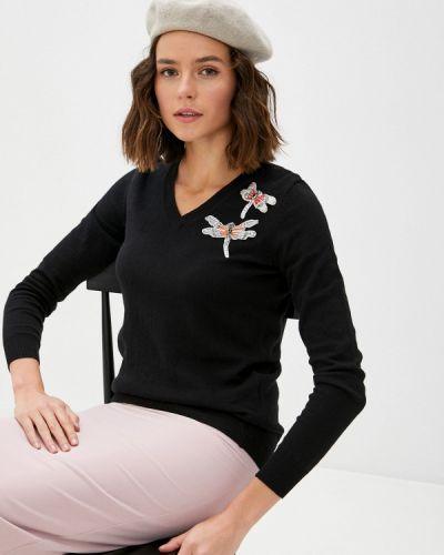 Черный пуловер Blugirl Folies