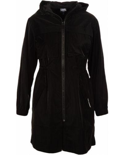 Czarna kurtka casual Karl Lagerfeld