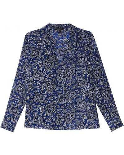 Блузка прямая с цветочным принтом Tara Jarmon