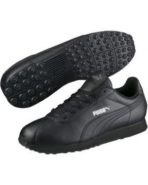 Мягкие спортивные черные кроссовки закрытые Puma