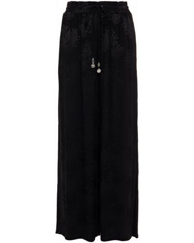 Черные брюки с карманами свободного кроя Camilla