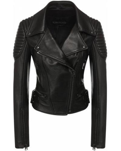 Кожаная куртка черная джинсовая Tom Ford