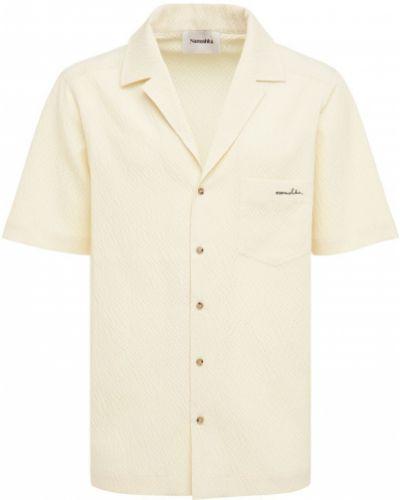 Рубашка с карманами Nanushka