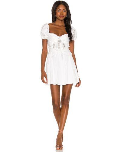 Кружевное платье - белое For Love & Lemons