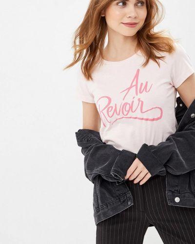 Розовая футболка 2019 Only