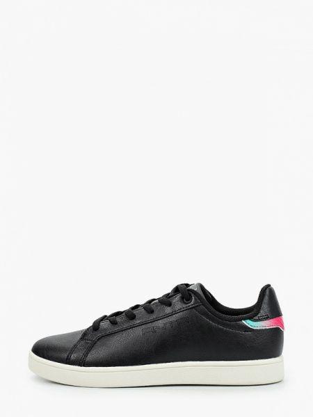 Черные кроссовки из искусственной кожи Anta